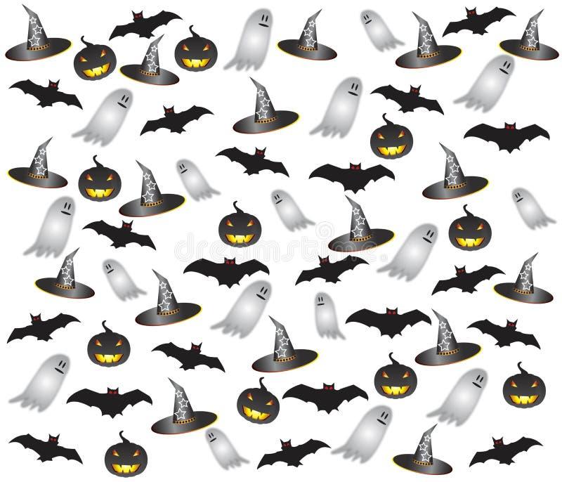 Halloweenowy rzecz set zdjęcia stock