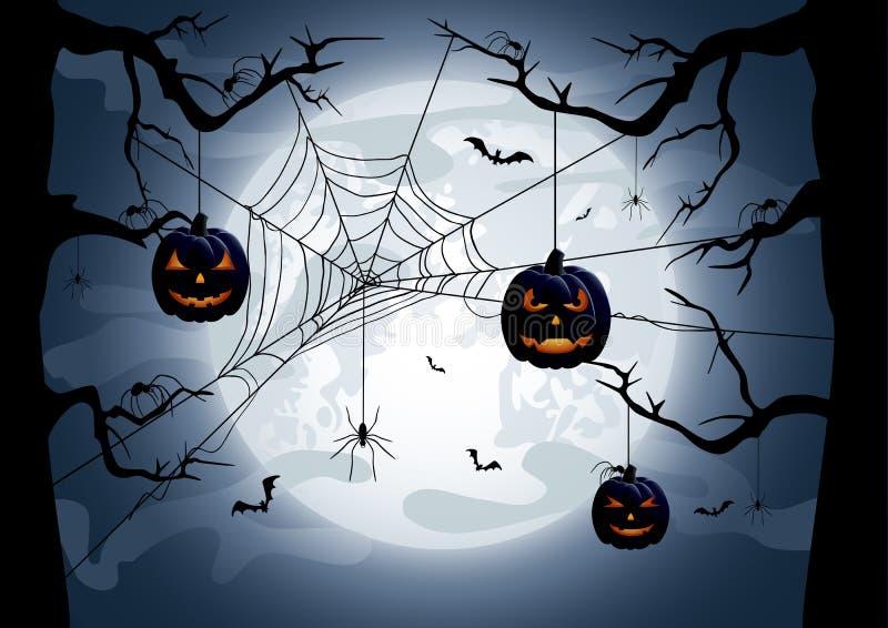 Halloweenowy temat ilustracji