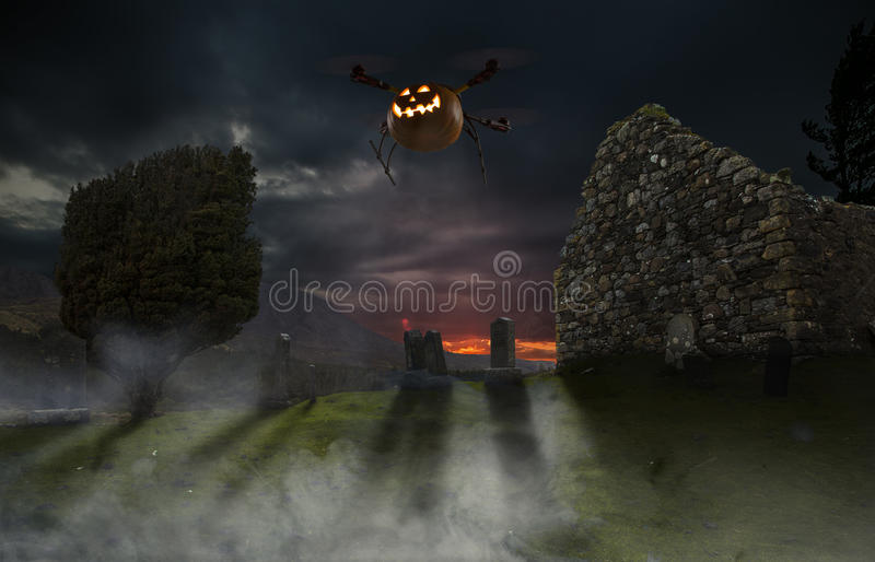 Halloweenowy truteń obraz stock