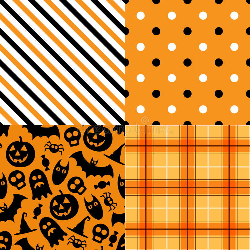 Halloweenowy wektor ilustracja wektor