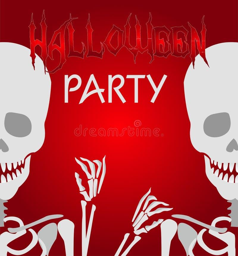 Download Halloweenowy Zredukowany Tło Ilustracja Wektor - Ilustracja złożonej z tło, sztandar: 53775715