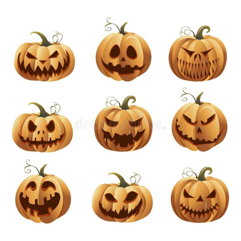 Halloweens royalty ilustracja