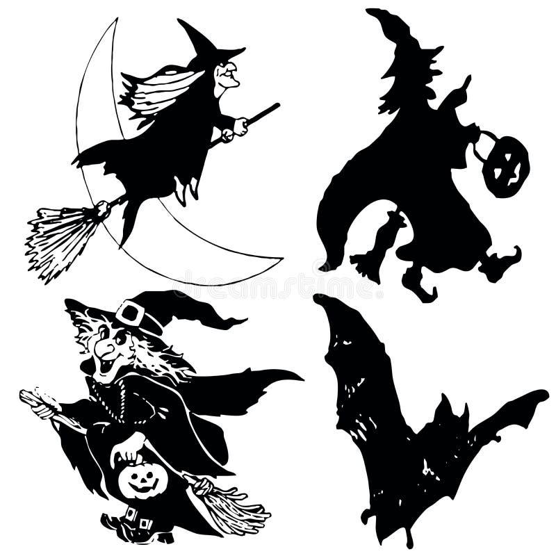 Halloweensymbols Στοκ φωτογραφία με δικαίωμα ελεύθερης χρήσης