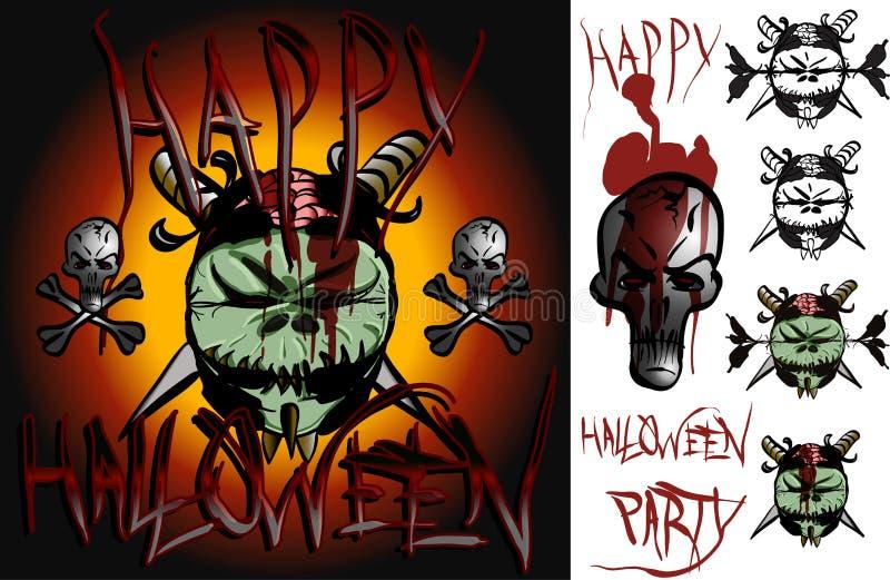 HalloweenTweek 01 royaltyfri bild
