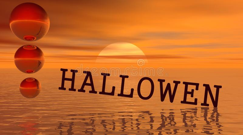Download Hallowen stock illustration. Image of background, happy - 11117954