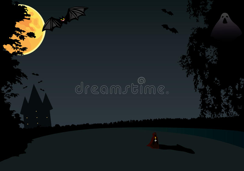 Download Hallowen stock illustration. Illustration of vampire - 22074521