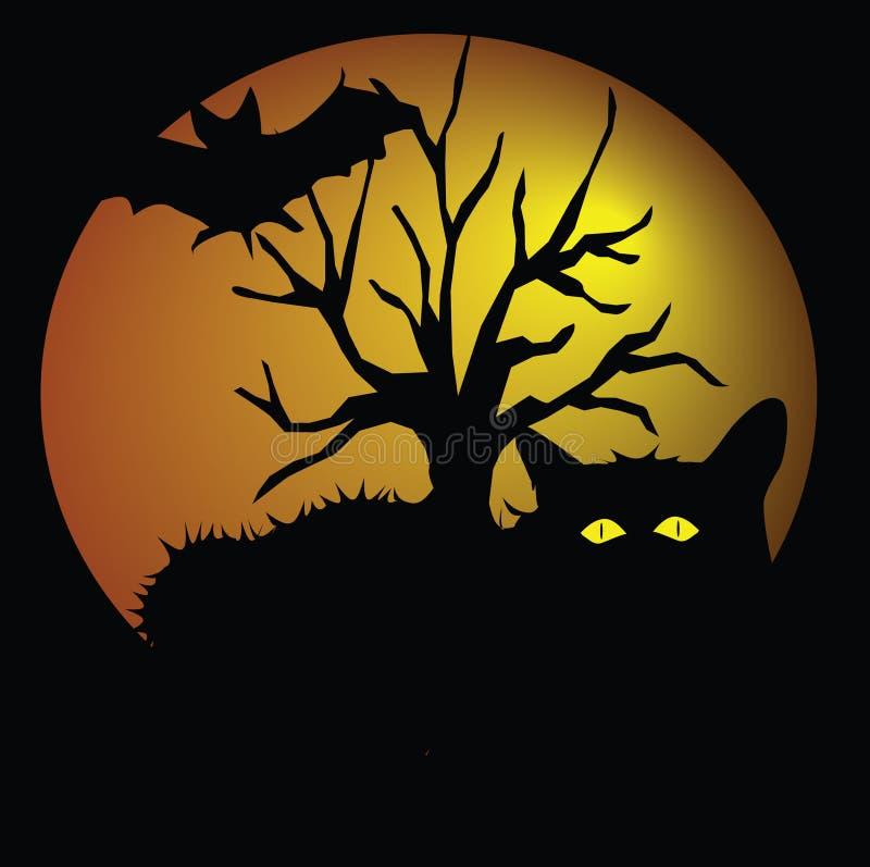 Hallowen ilustração do vetor