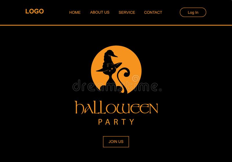 Hallowen, czarownicy figlarka fotografia stock