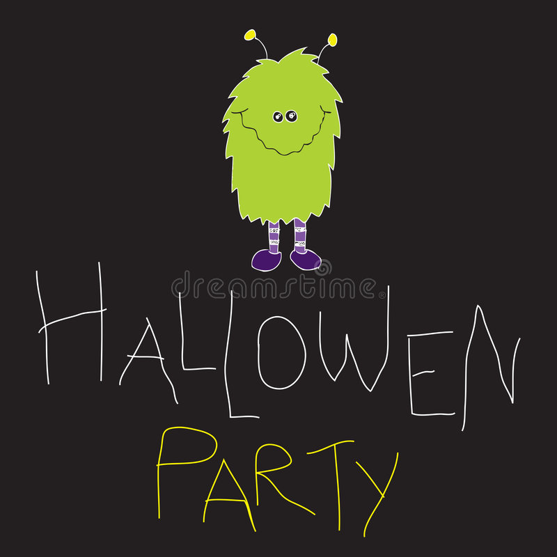 Hallowen Party Stock Images