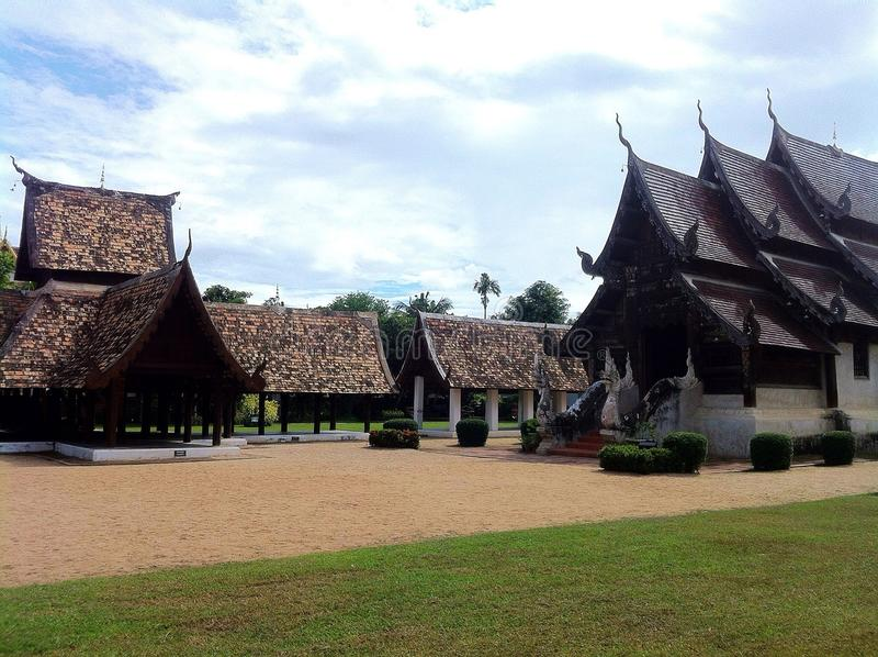 Halls d'image de Bouddha en Ton Temple images libres de droits