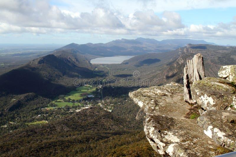 Boroka Lookout - Grampians - Halls Gap, AU royalty free stock images