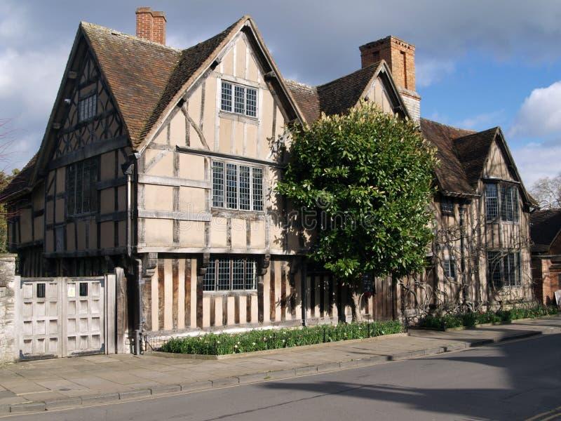 Halls jordlapp, Stratford-på-Avon, England, UK royaltyfri foto