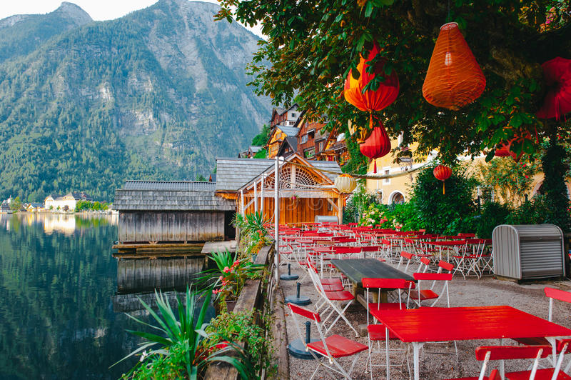 Hallstat Αυστρία στοκ φωτογραφία με δικαίωμα ελεύθερης χρήσης