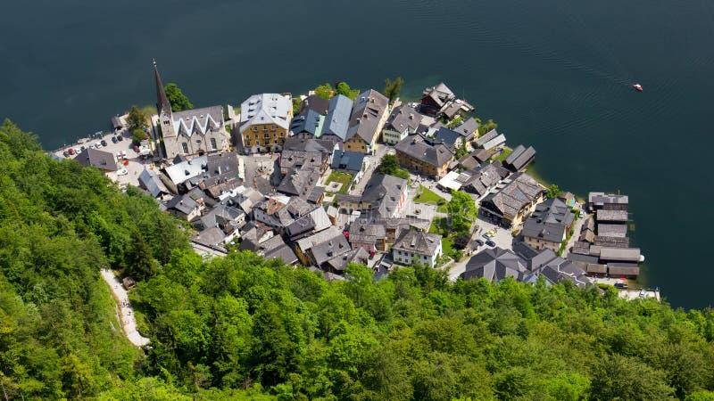 Hallstatt, Áustria imagens de stock