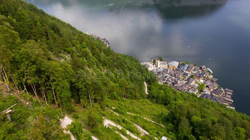 Hallstatt, Áustria fotografia de stock royalty free