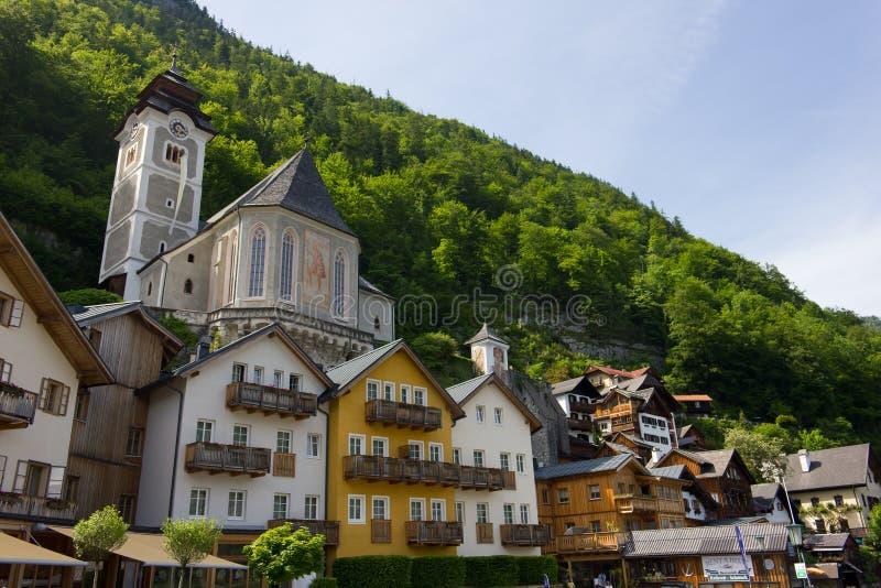 Hallstatt, Áustria imagem de stock