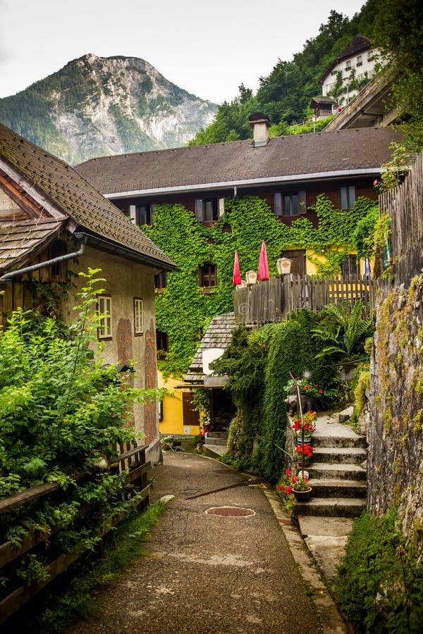 hallstatt Áustria imagens de stock royalty free