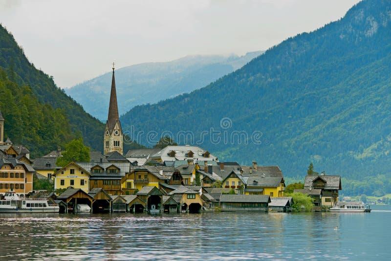 Hallstatt, Österreich lizenzfreie stockfotos