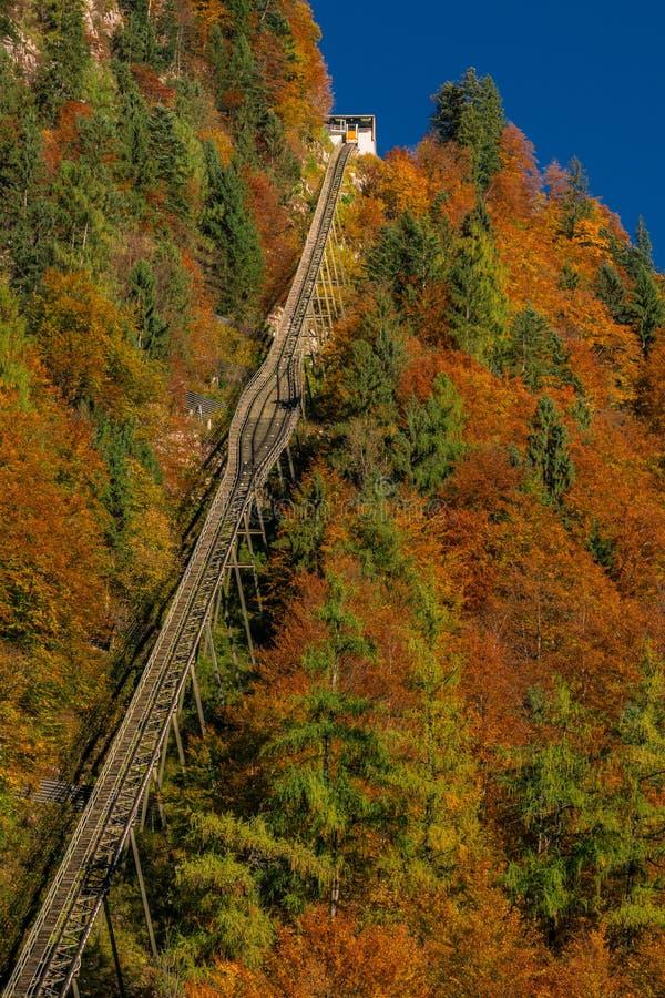 Hallstatt, Άνω Αυστρία, Αυστρία στοκ φωτογραφίες