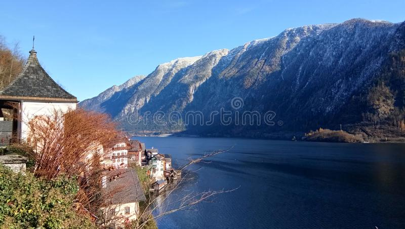 hallstatt fotos de stock