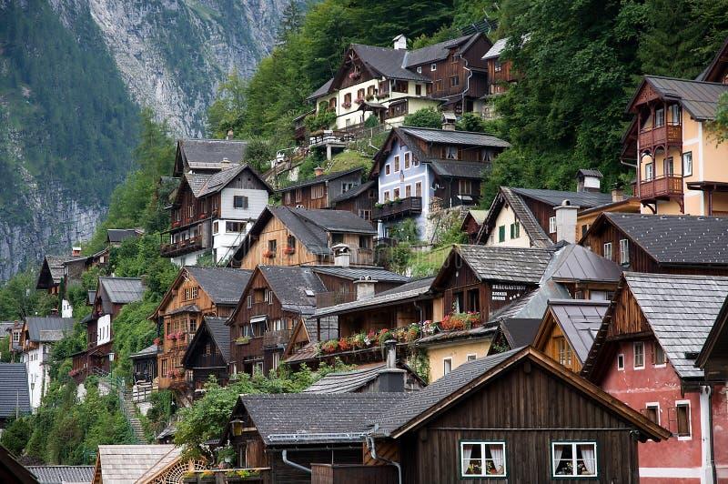 Hallstatt, Austria obrazy royalty free
