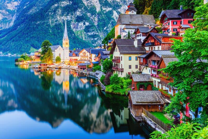 Hallstatt, Austria foto de archivo libre de regalías