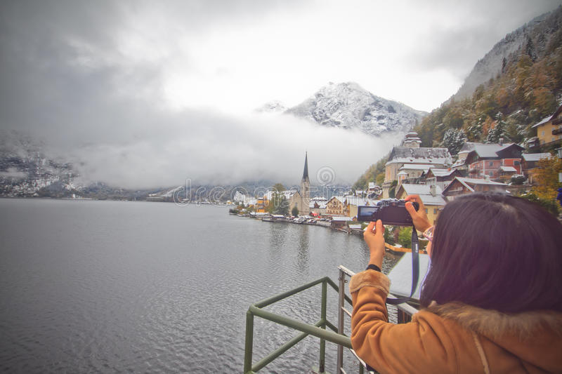 Hallstatt Editorial Stock Image