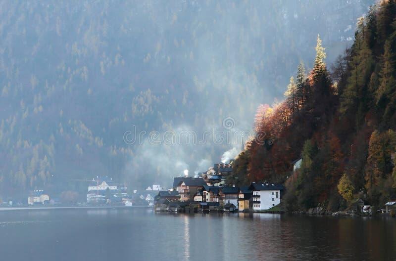 Hallstatt Austria fotografia stock