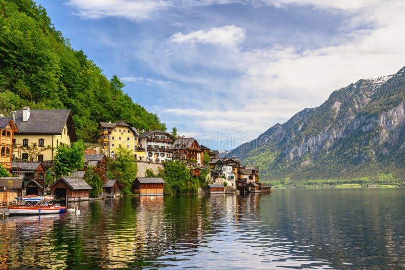 Hallstatt Autriche Paysage naturel photographie stock libre de droits