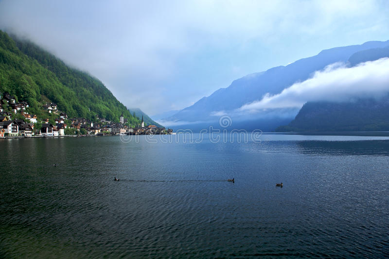 Hallstatt-Dachstein / Salzkammergut Cultural Lands royalty free stock photo