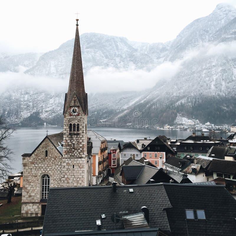 hallstatt de l'Autriche images libres de droits
