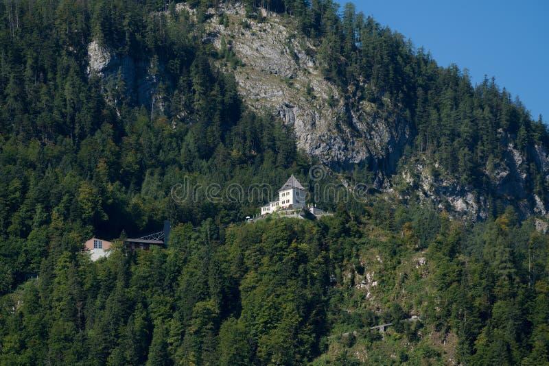 HALLSTATT, SALZKAMMERGUT/AUSTRIA - 14 DE SETEMBRO: Vista do C fotos de stock royalty free