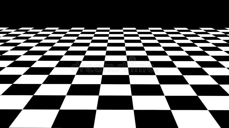 hallucination Ilus?o ?tica Ilustração torcida Fundo futurista abstrato dos quadrados Grade do vetor ilustração do vetor