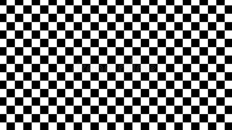 hallucination Ilus?o ?tica Ilustração torcida Fundo futurista abstrato dos quadrados Grade do vetor ilustração stock