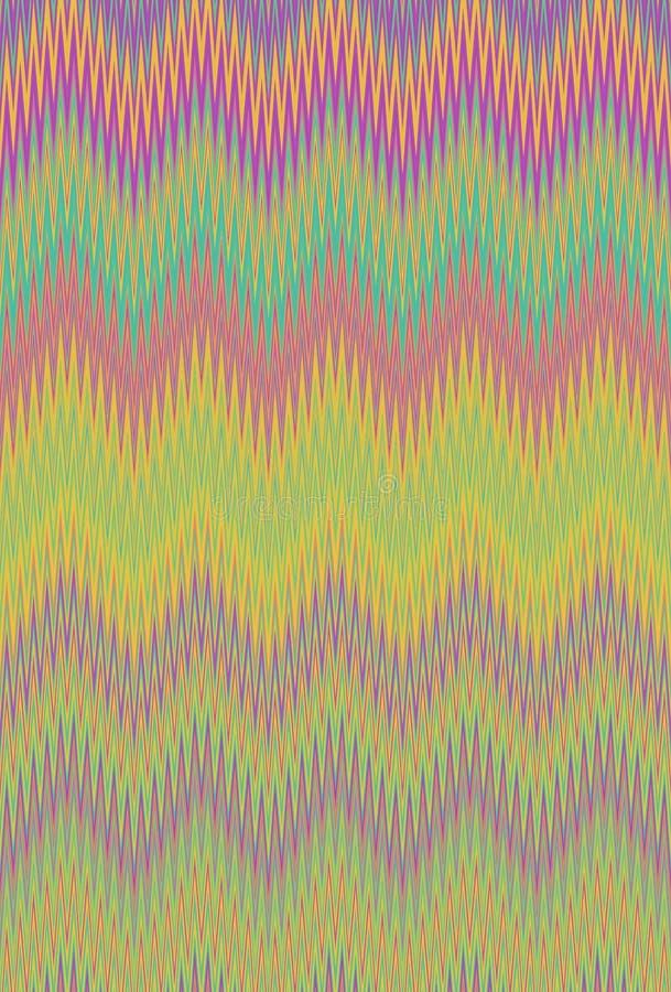 Hallucinogen sparresicksack f?r psykedelisk hallucination konst royaltyfri bild