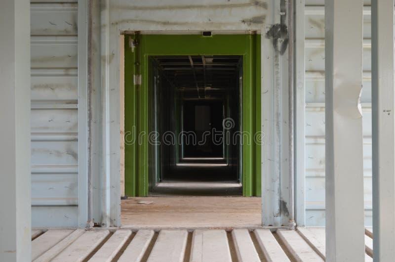 hallway stockfoto