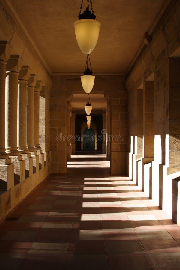 Hallway stock photography