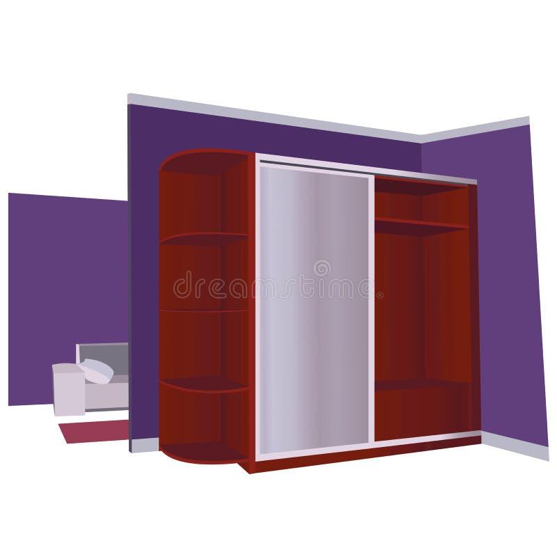 hallway illustrazione vettoriale