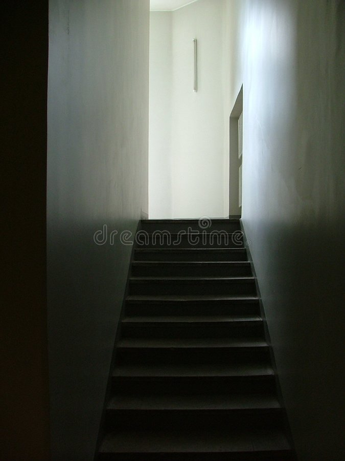 Download Hallway stock image. Image of office, stairway, stair, shadow - 155401