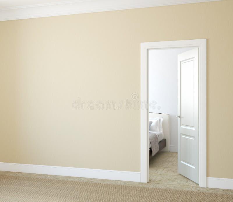 Hallway. royalty free illustration