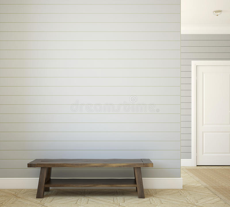 Hallway. stock illustration