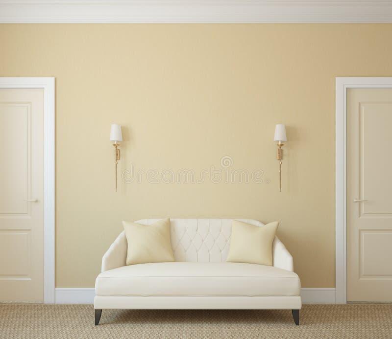hallway royalty-vrije illustratie