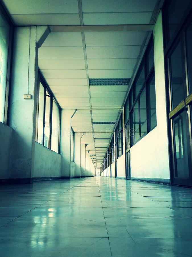 hallway imagens de stock royalty free