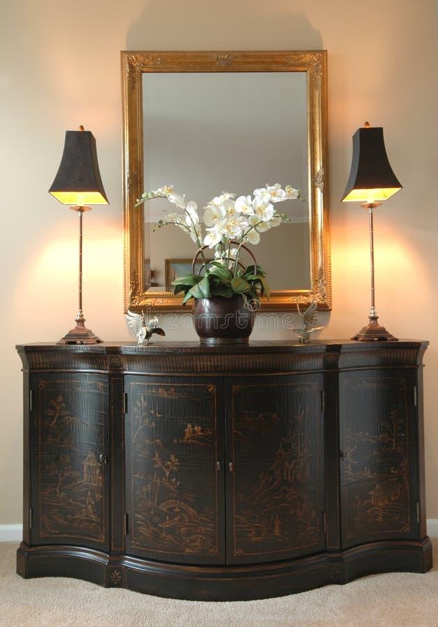 Hallway furniture stock photo