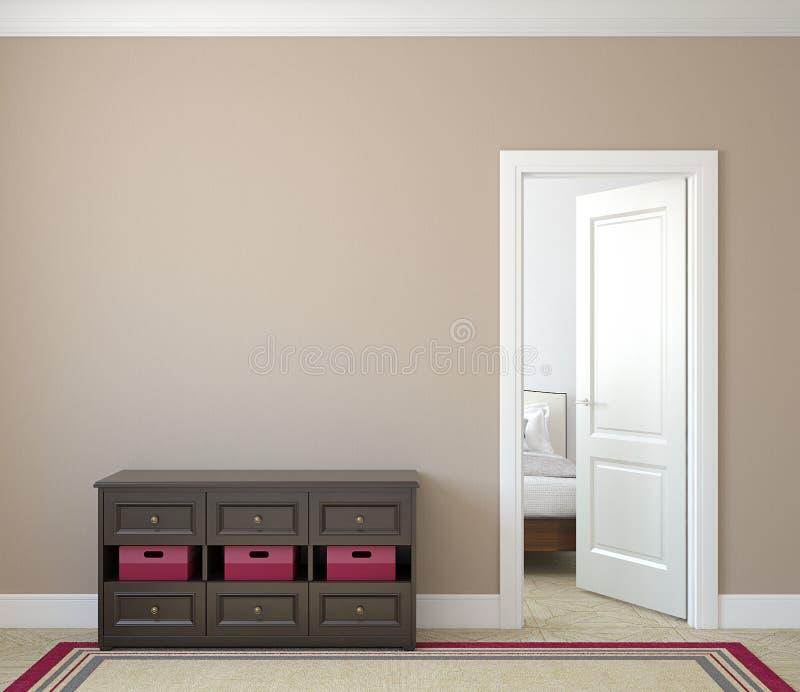 Hallway. vector illustration