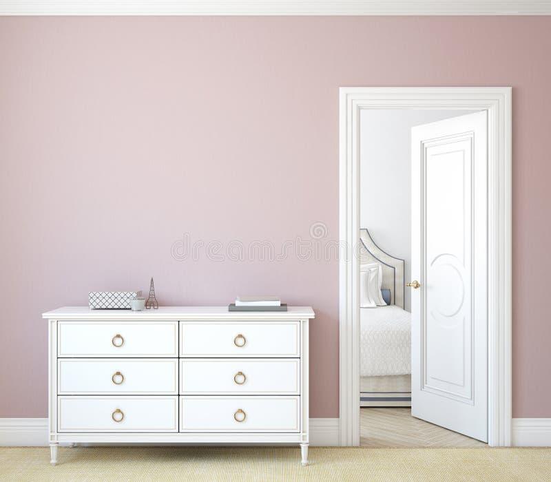 hallway rappresentazione 3d illustrazione di stock
