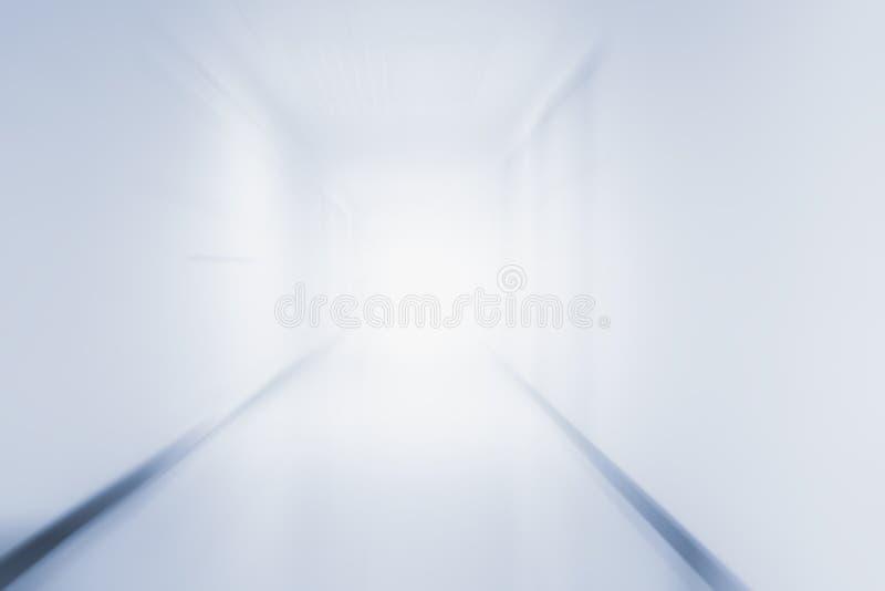 HallwayBackground borroso médico abstracto blanco foto de archivo libre de regalías