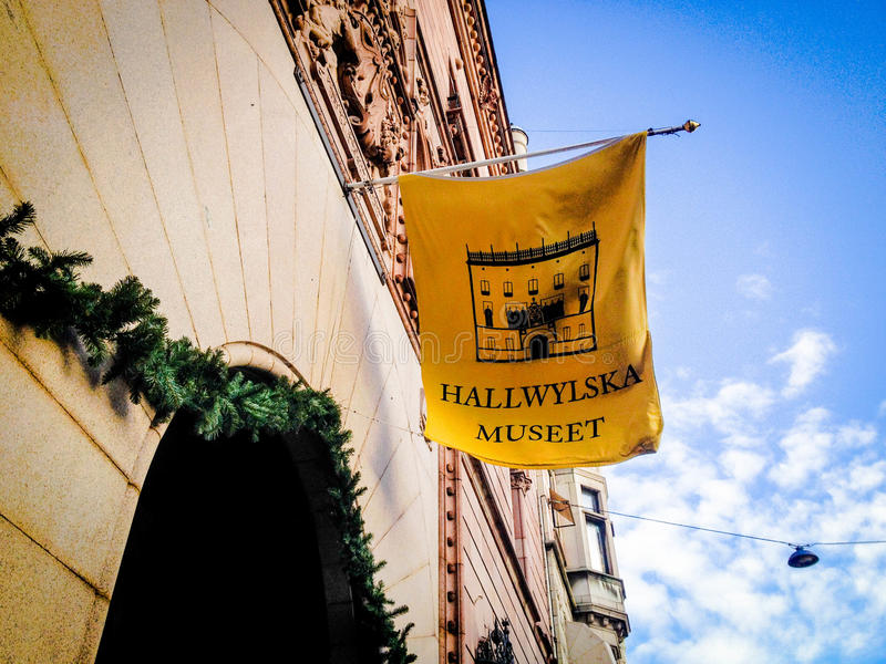 Hallwylhuis royalty-vrije stock foto