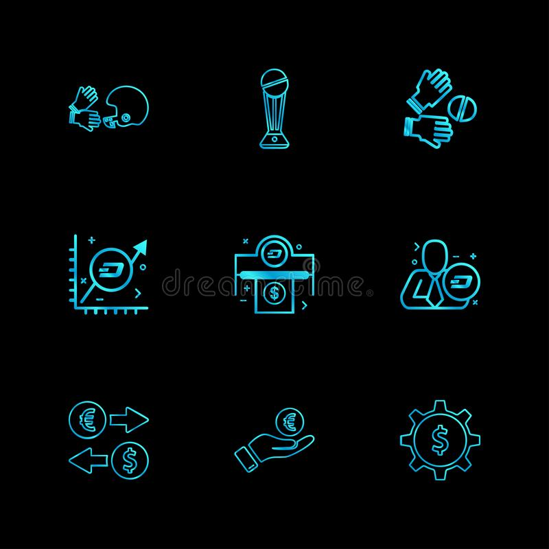 Halmet , trophy , catch , graph , corporate , dollar , money , g. Ear ,icon, vector, design, flat, collection, style, creative, icons - This Vector EPS 10 royalty free illustration