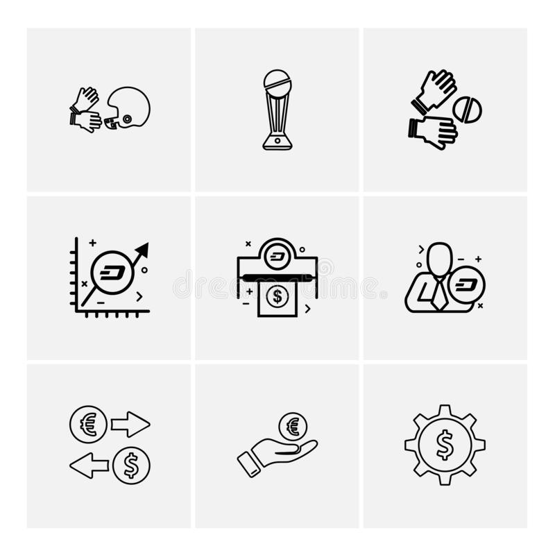 Halmet , trophy , catch , graph , corporate , dollar , money , g. Ear ,icon, vector, design, flat, collection, style, creative, icons - This Vector EPS 10 stock illustration